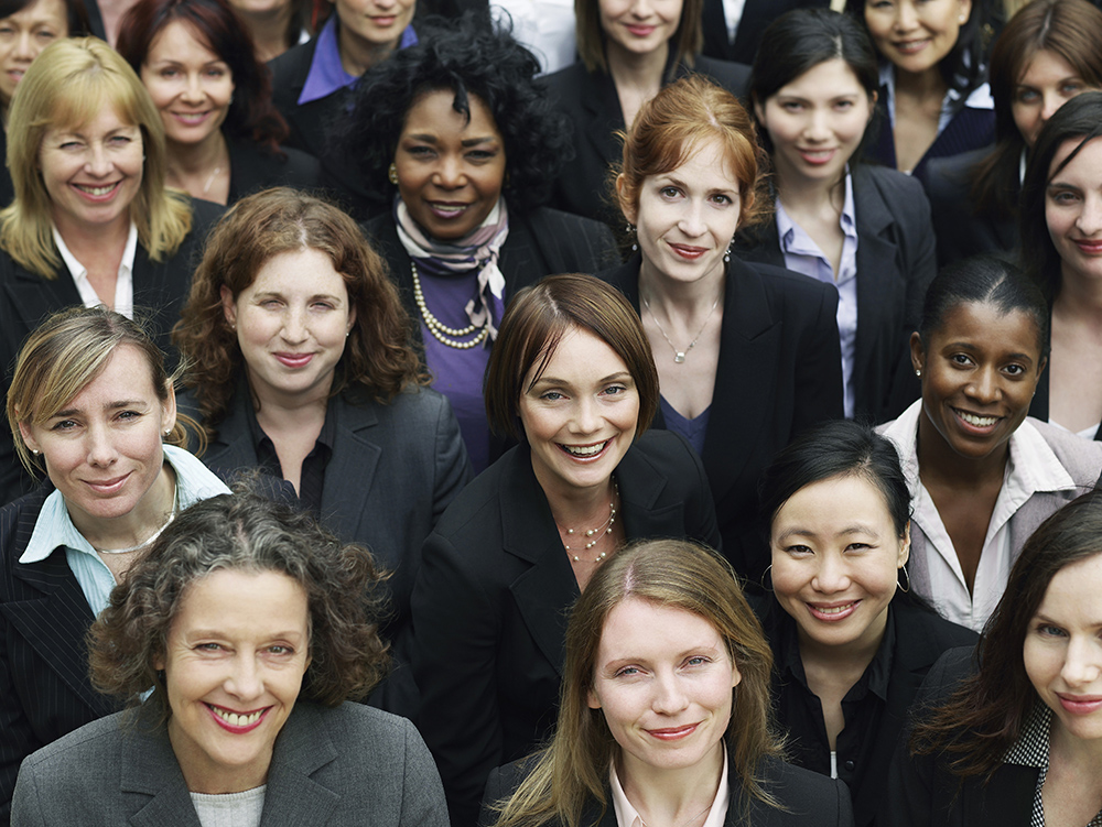 Diverse Group of Female Leaders