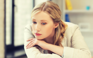 Working Woman Dealing with Stress