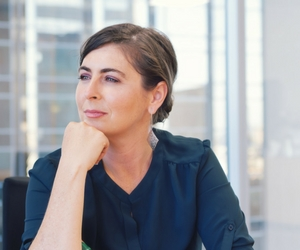 Professional Woman pondering new leadership role
